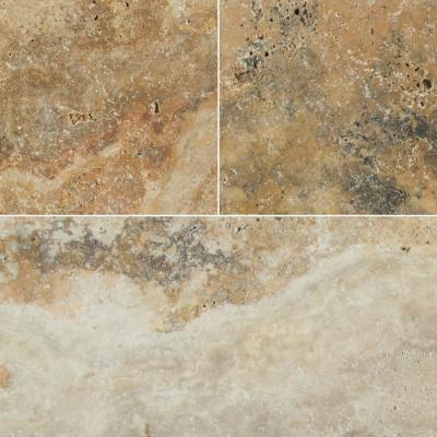 Porcini 16 in. x 24 in. Gold Travertine Paver Tile (15 Pieces / 40.05 Sq. Ft. / Pallet)