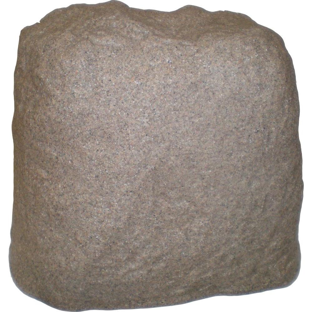 Rockscape sandstone valve cover landscape rocks p218 the for Landscape rock utility cover