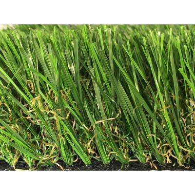 GREENLINE Supreme 2.5-90 Spring Artificial Grass Synthetic Lawn Turf Carpet for Outdoor Landscape 15 ft. x Custom Length
