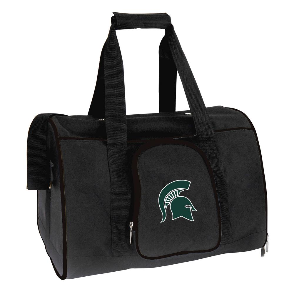 NCAA Michigan State Spartans Pet Carrier Premium 16 in. Bag in