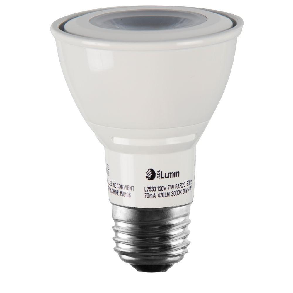K Par20 Dimmable Led Spot Light Bulb