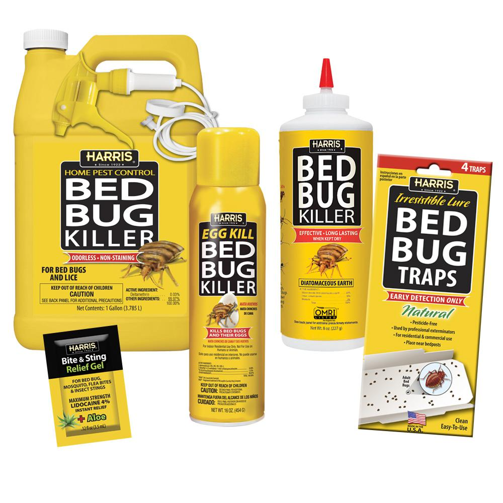 Harris Large Bed Bug Kit 100532154 The Home Depot