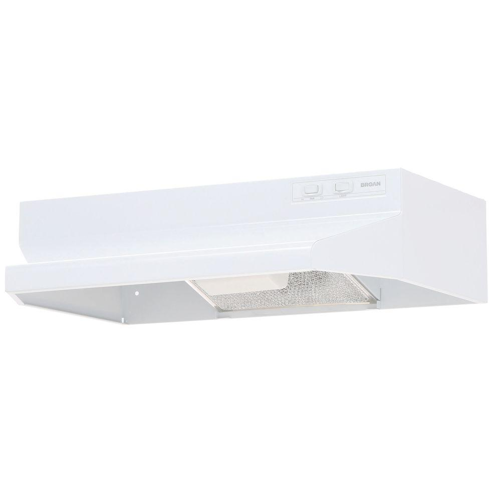 Broan 40000 Series 24 in. Range Hood in White