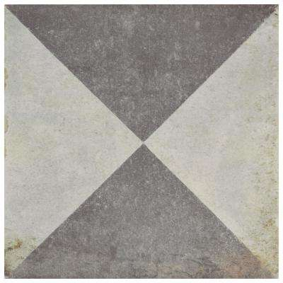 D'Anticatto Decor Triangoli 8-3/4 in. x 8-3/4 in. Porcelain Floor and Wall Tile (11.25 sq. ft. / case)