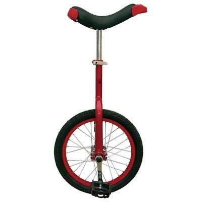 Fun Red 16 in. Unicycle with Alloy Rim