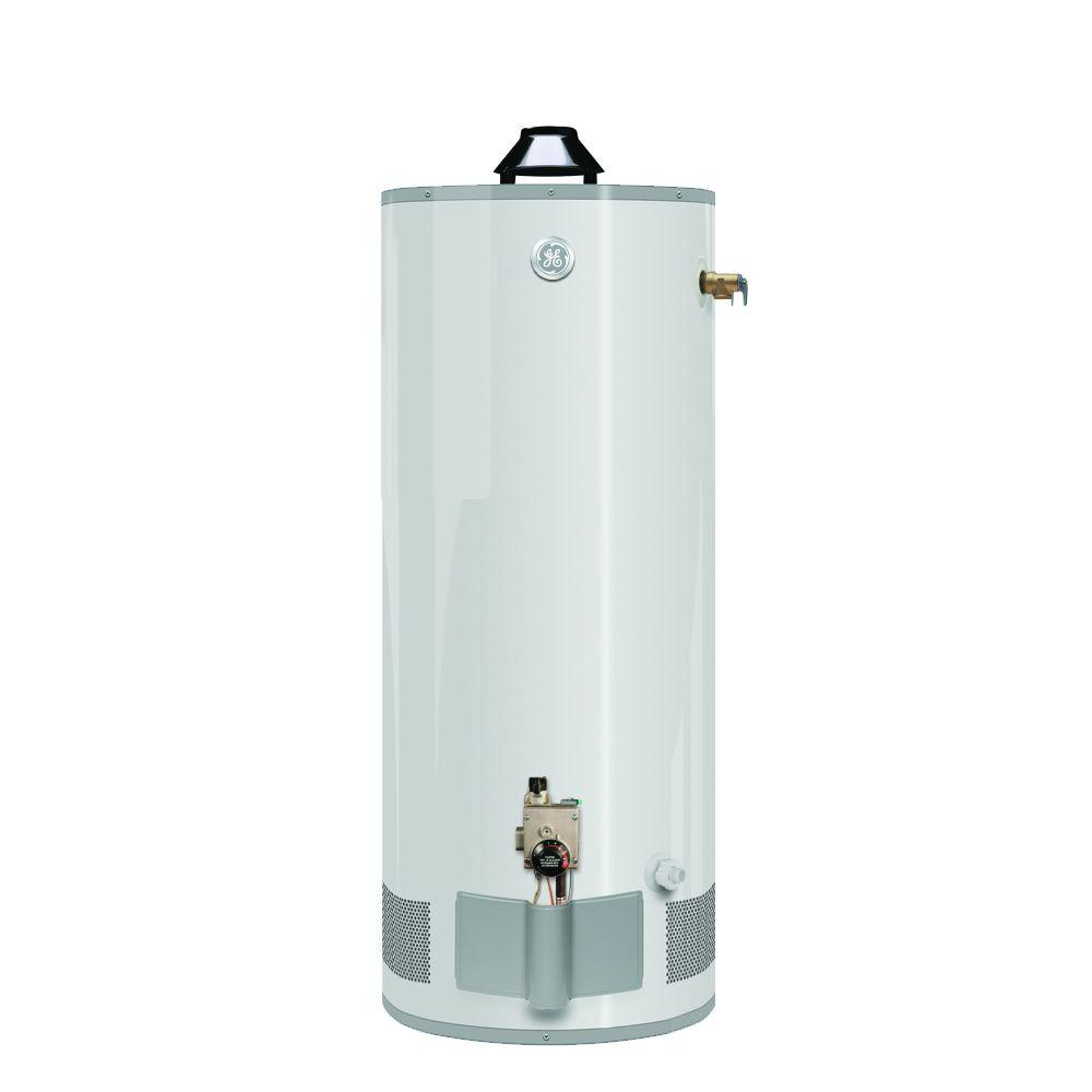 GE 40 gal. Short 6 Year 36,000 BTU Natural Gas Water Heater-DISCONTINUED