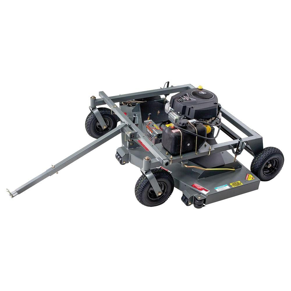 Swisher 66 in. 19-HP Briggs & Stratton Electric Start Finish Cut Trail Commercial Tow Behind Mower