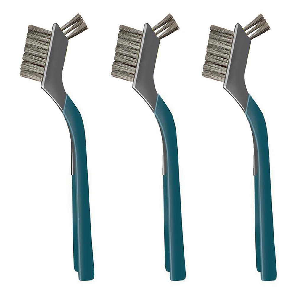 Anvil Stainless Steel Mini Wire Brushes (3-Pack)
