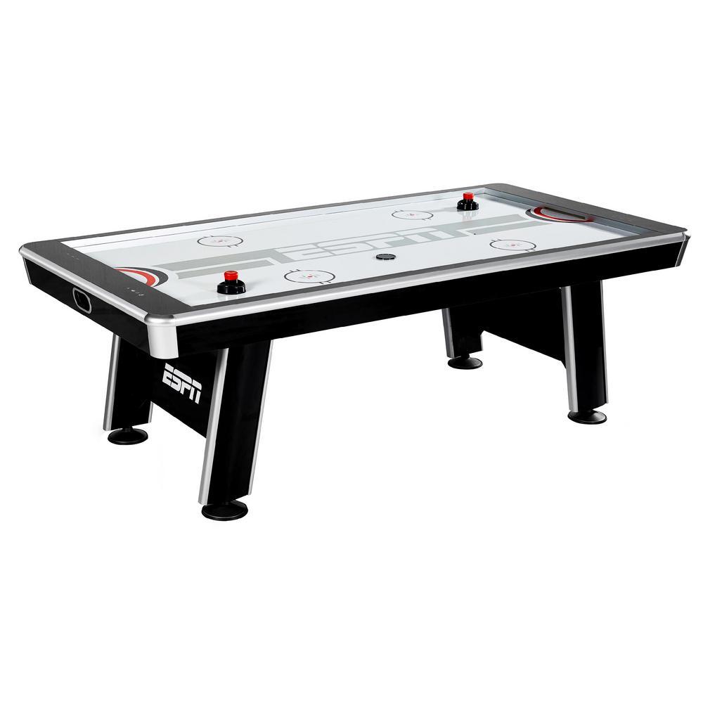 90 in. Silver Streak Air Powered Hockey Table