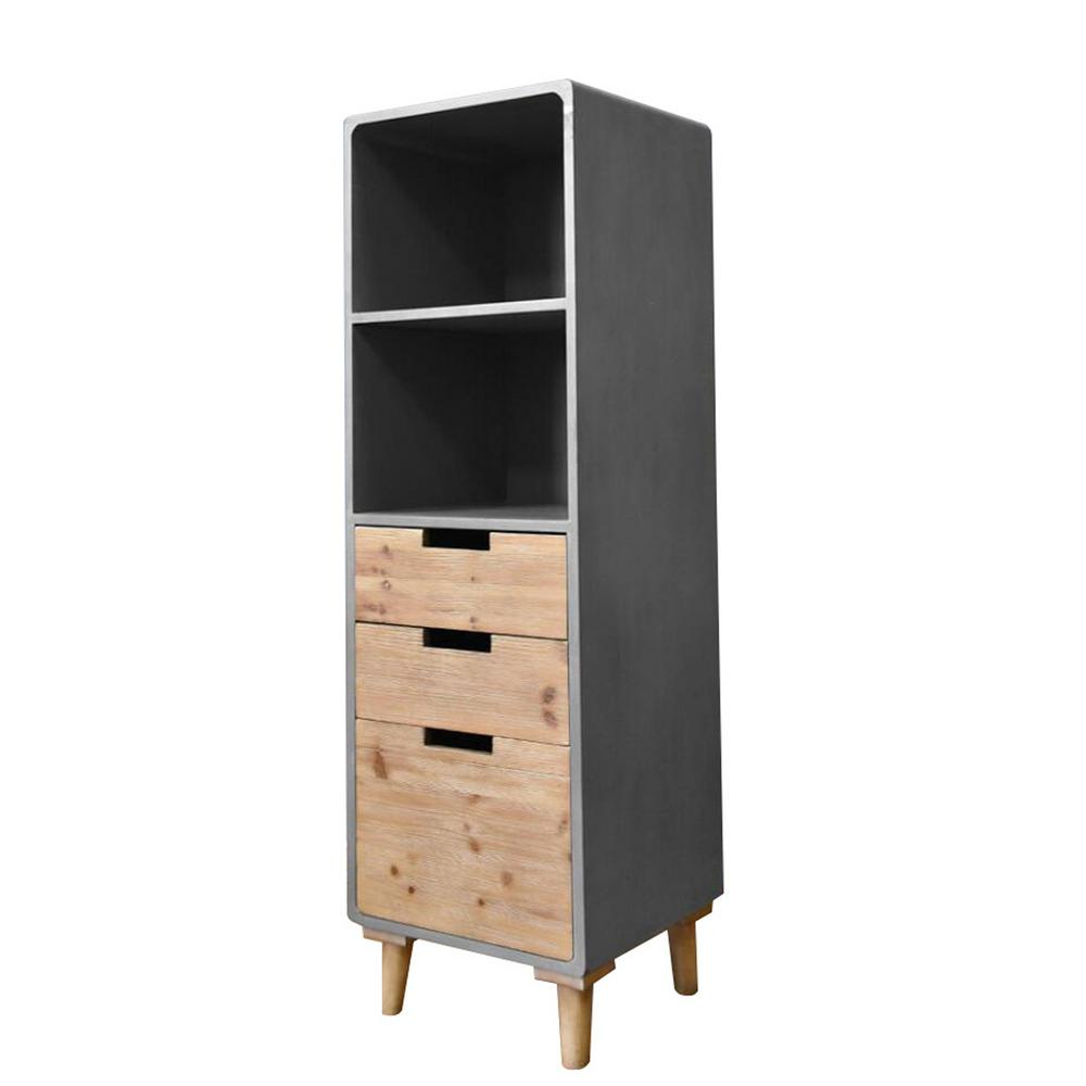 gray storage cabinet gray industrial metal and wood utility buffet cabinet 16034