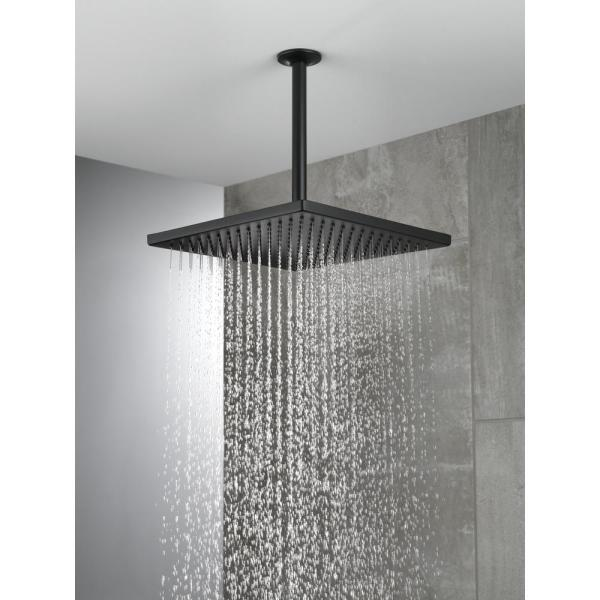 Wall Mount Square Fixed Rain Shower
