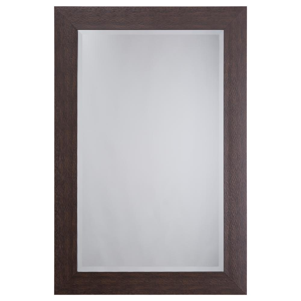 Yosemite Home Decor Mirror with Espresso Frame-MINT001 - The Home Depot