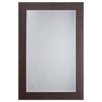 Mirror with Espresso Frame