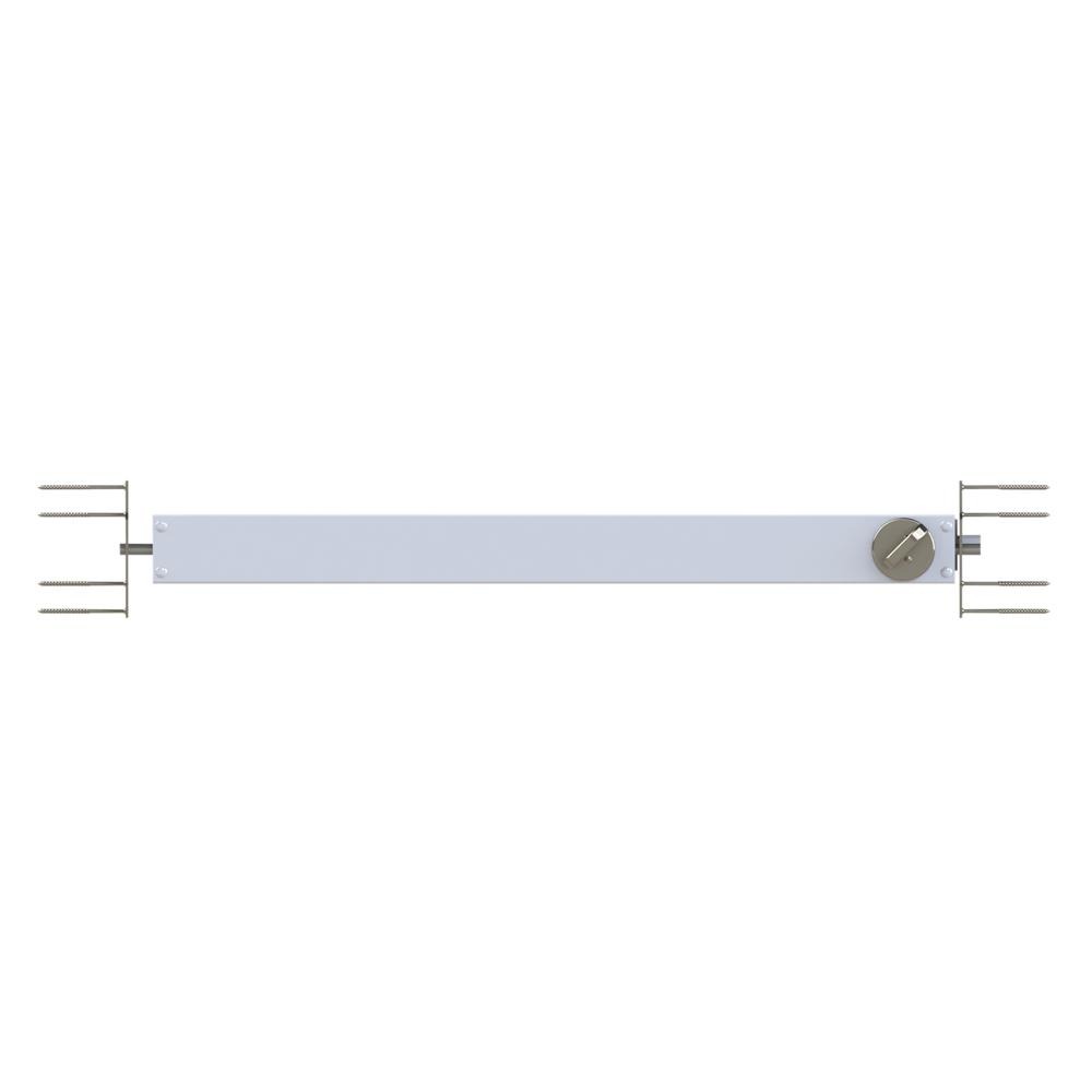 Grisham Brushed Nickel Lockset 90525 The Home Depot