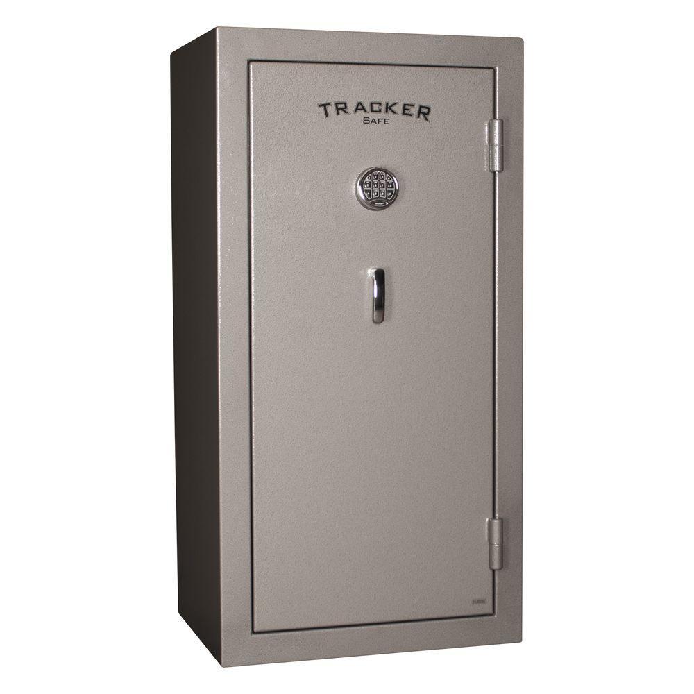 24-Gun Fire-Resistant Electronic Lock Gun Safe, Gray