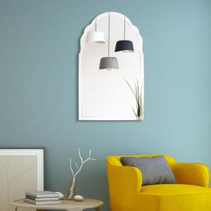 Empire Art Direct Arch Elegant Beveled Glass Framed Wall ...