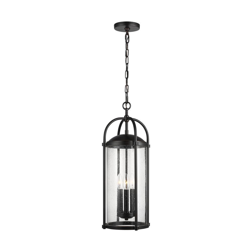 Dakota Espresso 3-Light Hanging Lantern