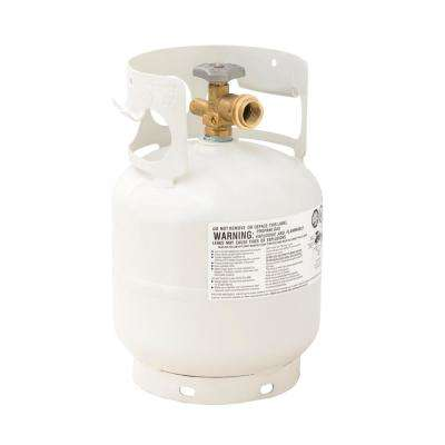 5 lb. Empty Propane Cylinder with Overfill Protection Device