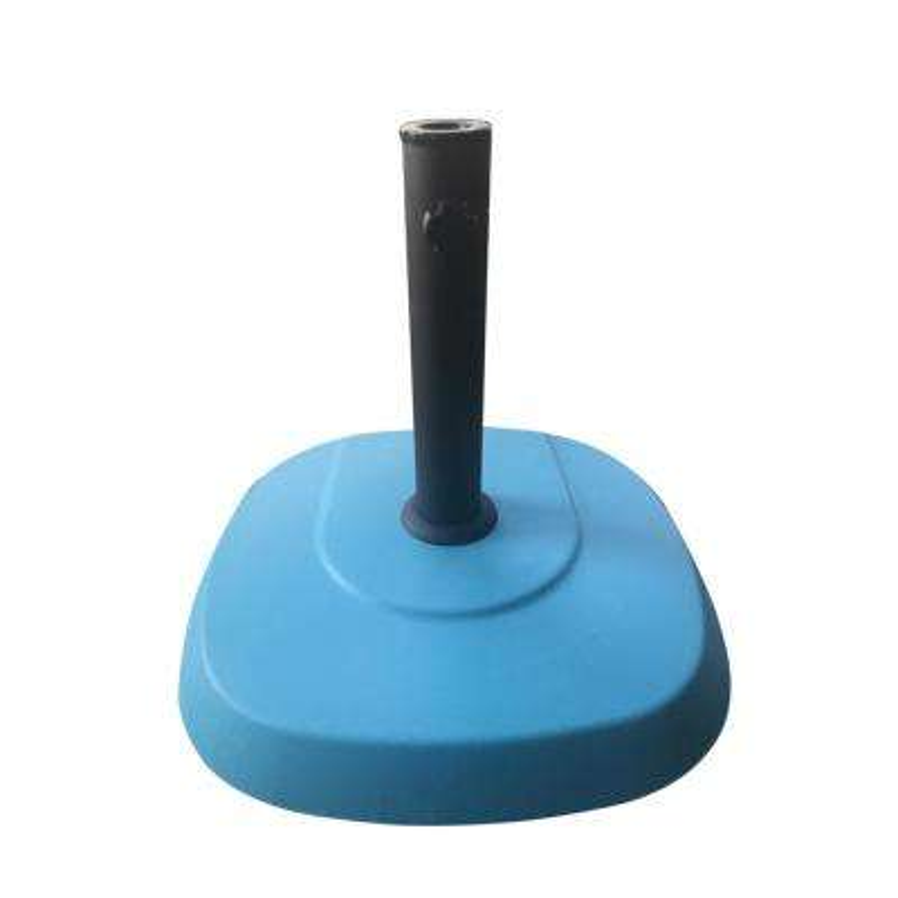 Anuta 60.63 lbs. Concrete Patio Umbrella Base in Teal