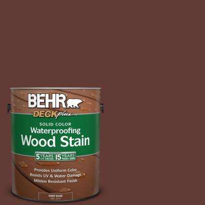 1 gal. #S-G-730 Tawny Port Solid Color Waterproofing Exterior Wood Stain