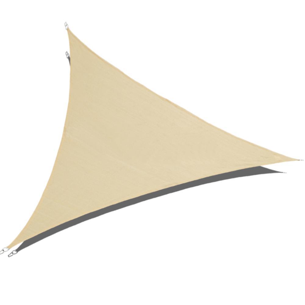 Shade Beyond 20 Ft X 20 Ft X 20 Ft Sand Triangle Sun Shade Sail