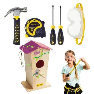 Birdhouse Kit and 5-Piece Tool Set (Tool Belt Not Included)