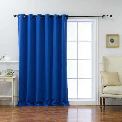 Royal Blue Curtains Drapes Window Treatments The Home Depot
