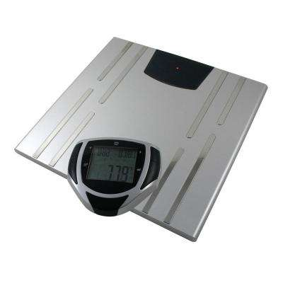 Digital Body Composition Bathroom Scale in Gray