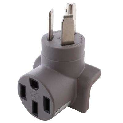 30 Amp 10-30P 3-Prong Electric Vehicle Charging Adapter for Tesla