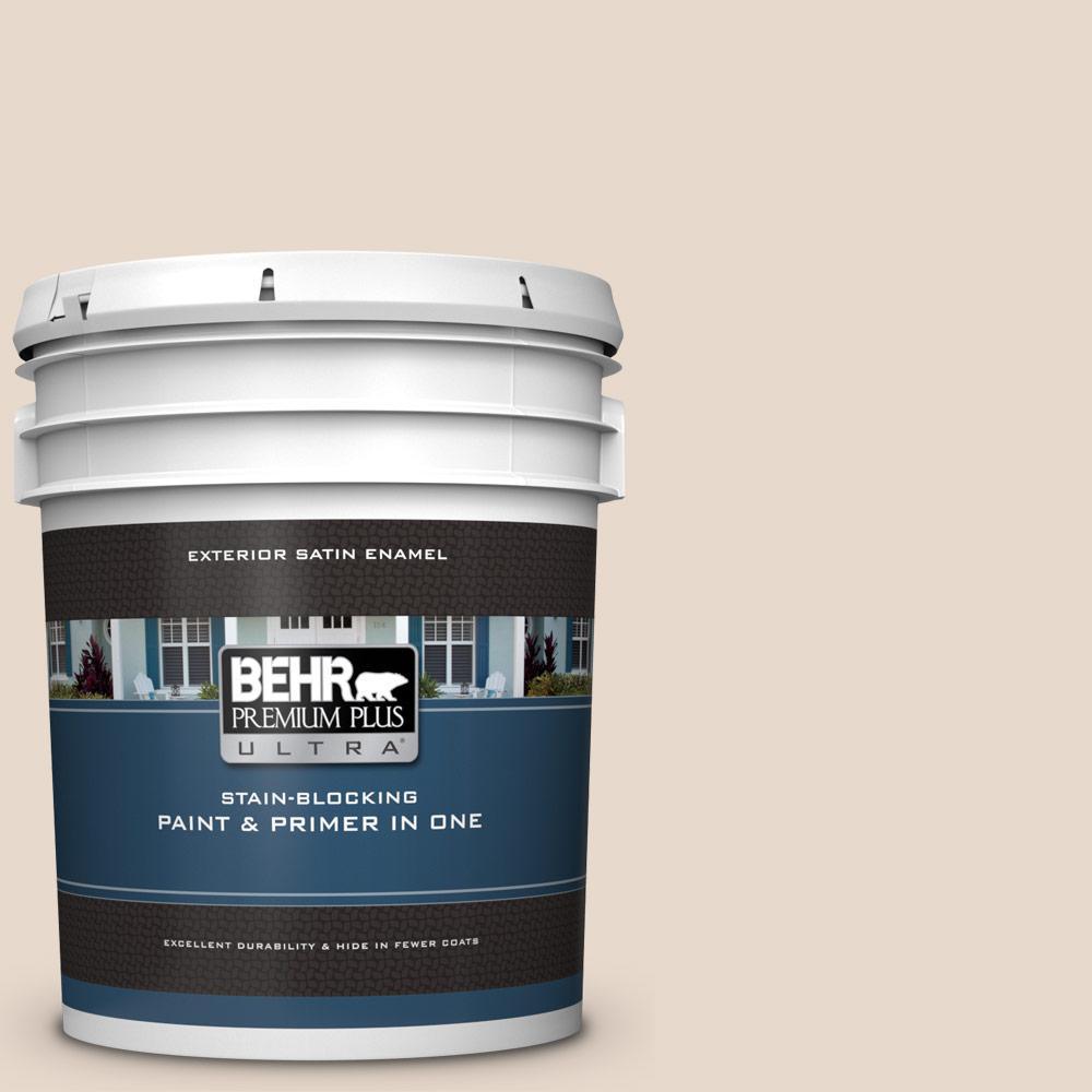 Home Depot Exterior Paint: BEHR Premium Plus Ultra 5 Gal. #N240-1 Cascade Beige Satin