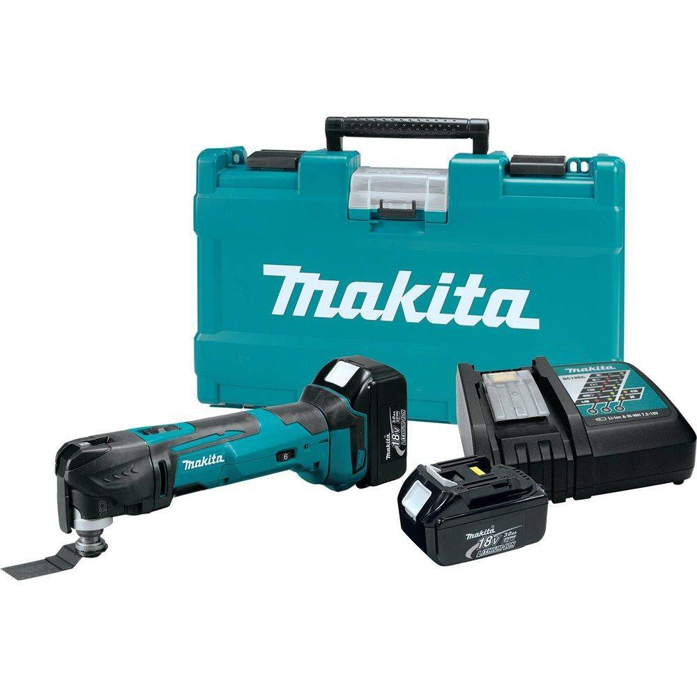 makita 18 volt lxt lithium ion cordless multi tool kit. Black Bedroom Furniture Sets. Home Design Ideas