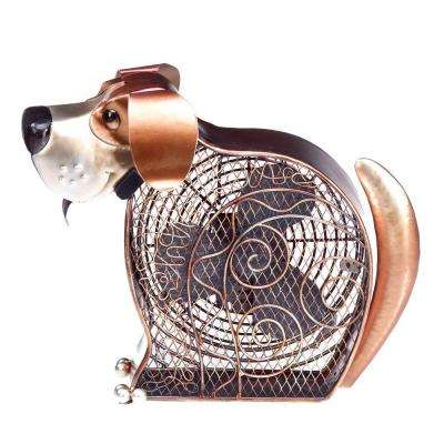 7 in. Figurine Fan-Doggie
