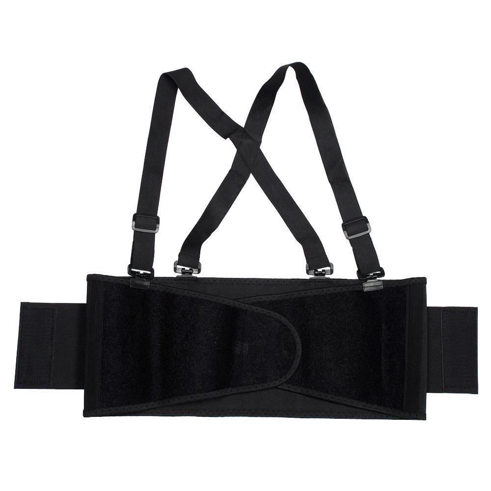 Cordova Medium Black Back Support Belt