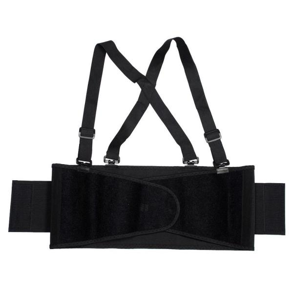 Medium Black Back Support Belt