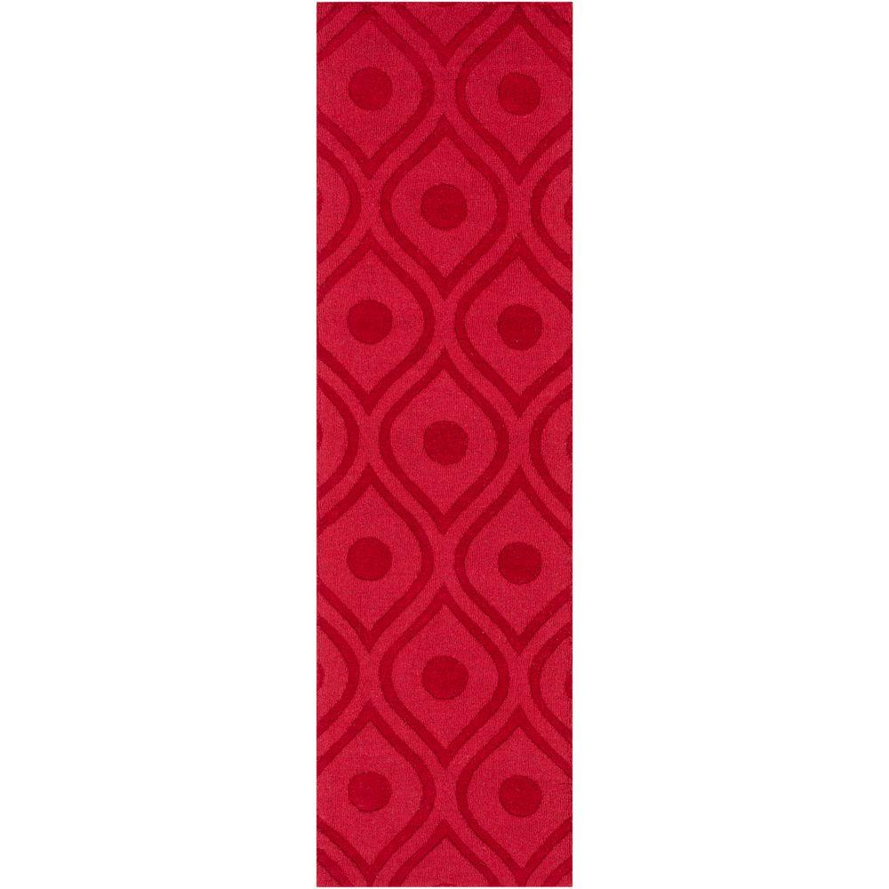 Central Park Zara Cherry 2 ft. 3 in. x 8 ft.