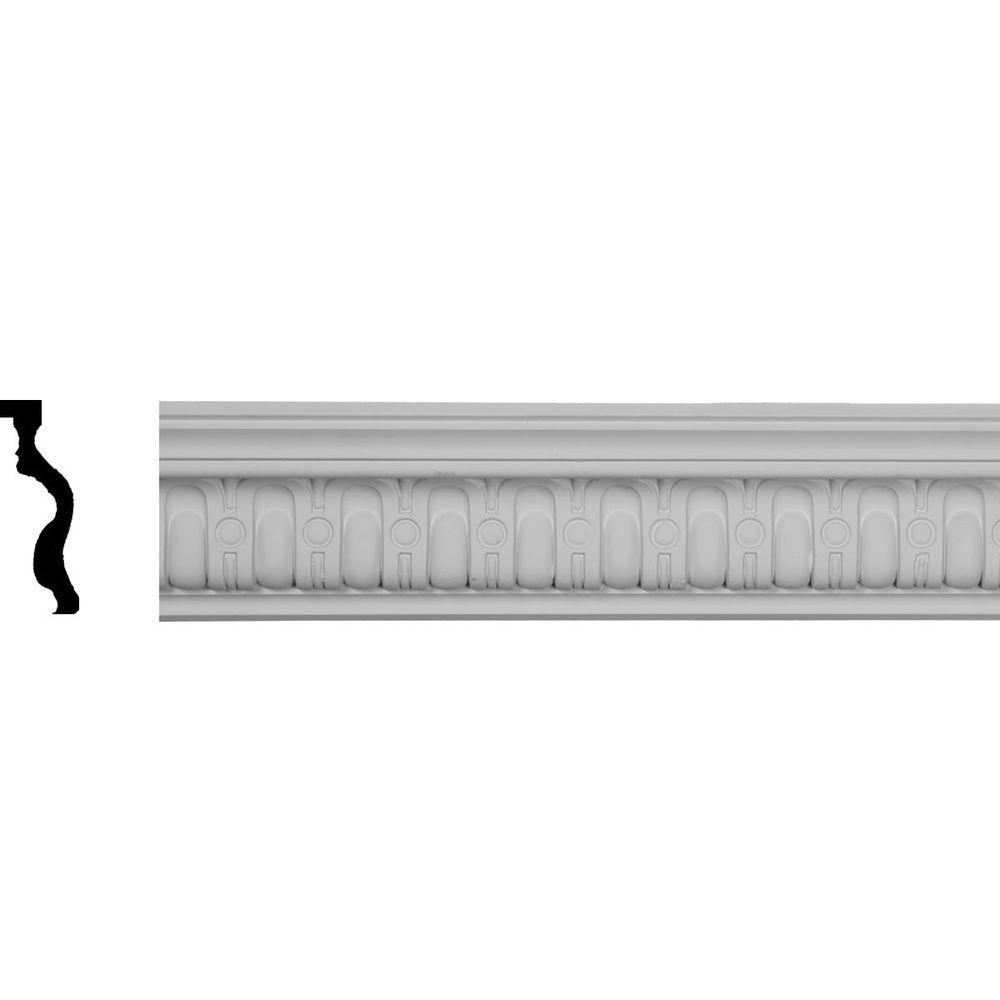 Ekena millwork 2 1 8 in x 4 in x 94 1 2 in polyurethane for Millwork definition