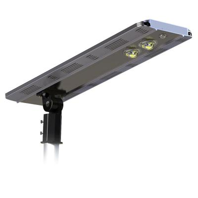 AI SMART 3200 Lumens Brown Solar Power Motion Activated Outdoor Integrated CREE LED Street Area Light