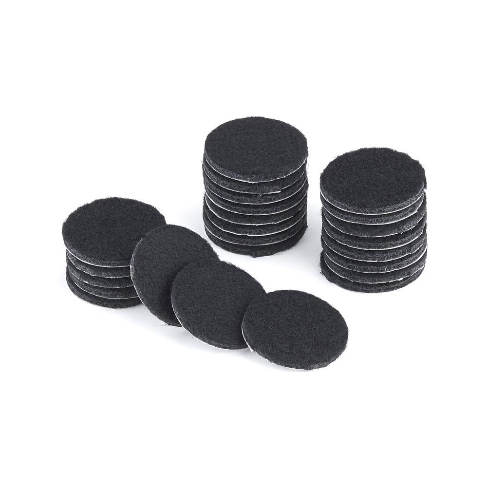 1-1/2 in. Round Felt Pads (24-Pack)