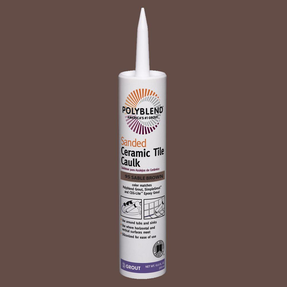 Custom Building Products Polyblend #95 Sable Brown 10.5 Oz