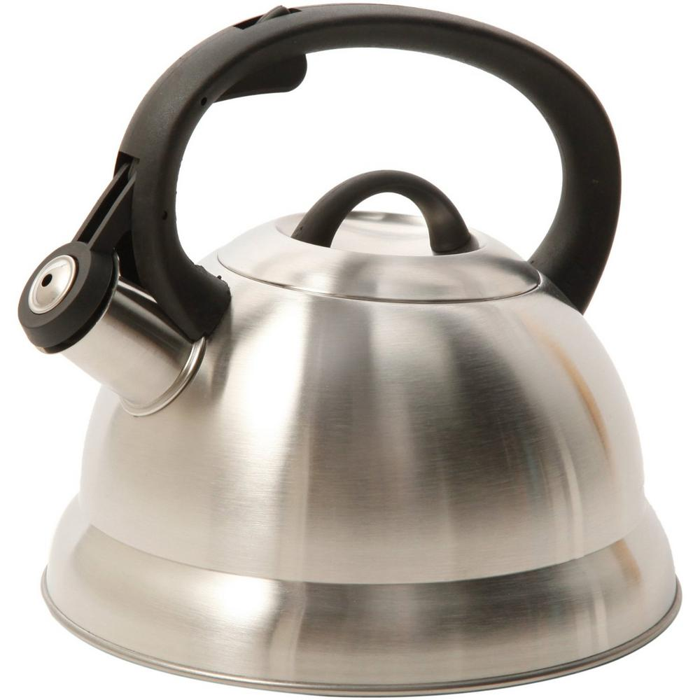 Mr Coffee Flintshire 1 75 Qt Stainless Steel Whistling Tea Kettle