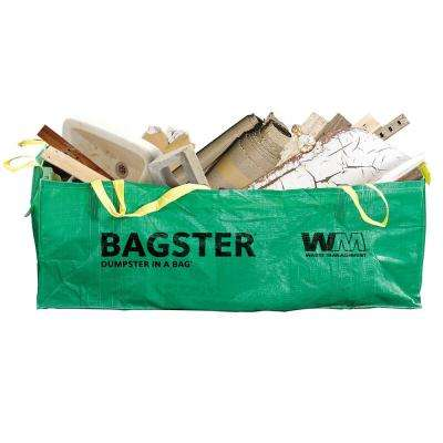 WM Bagster Dumpster in a Bag (Holds up to 3,300 lb.)
