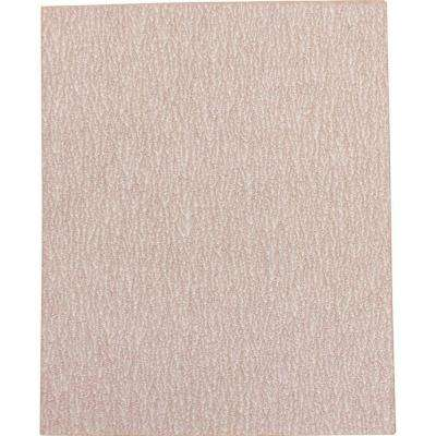 4-1/2 in. x 5-1/2 in. 100-Grit Abrasive Paper (5-Pack) for use with 1/4 Sheet Finishing Sanders