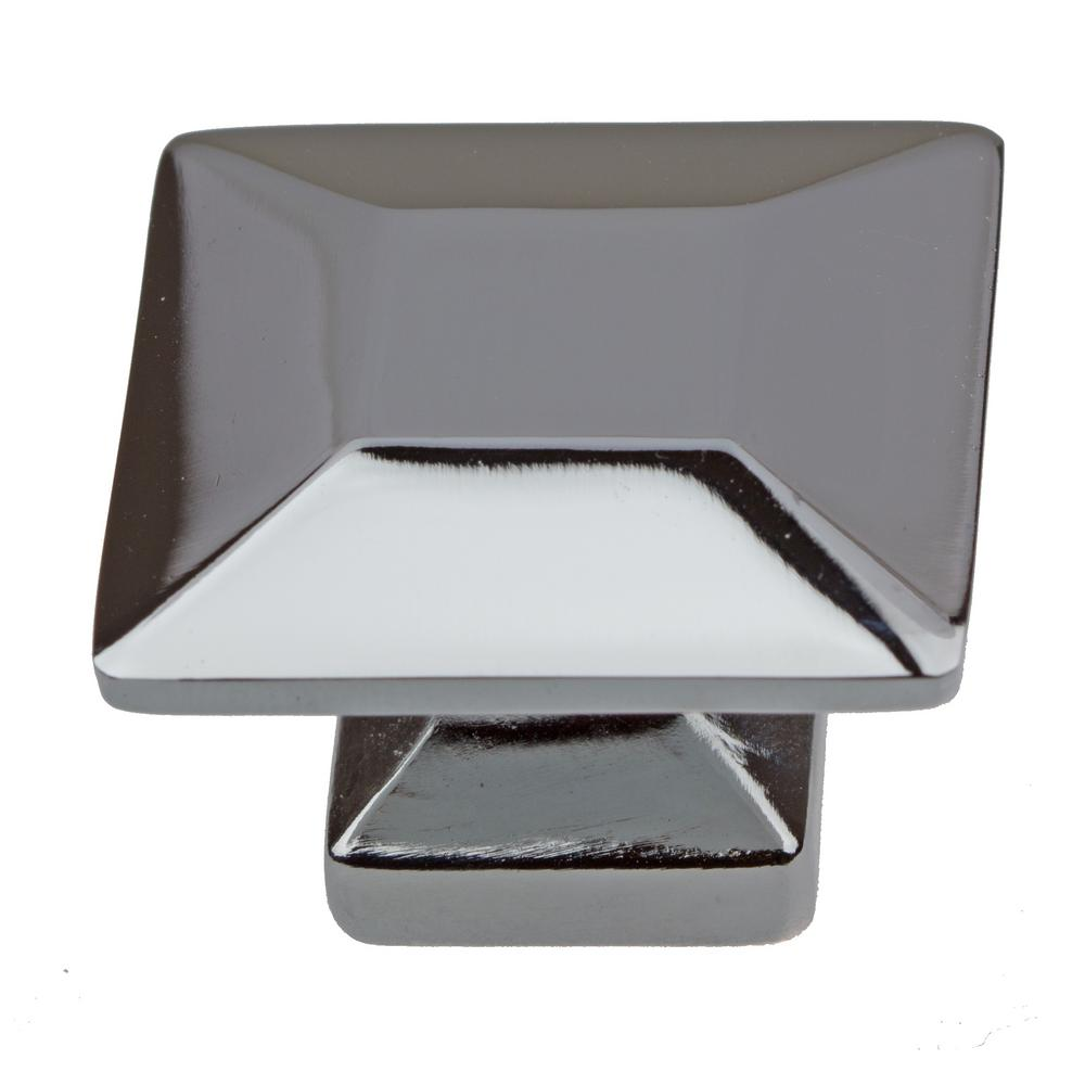 Gliderite 1 3 8 In Polished Chrome Square Cabinet 10 Pack