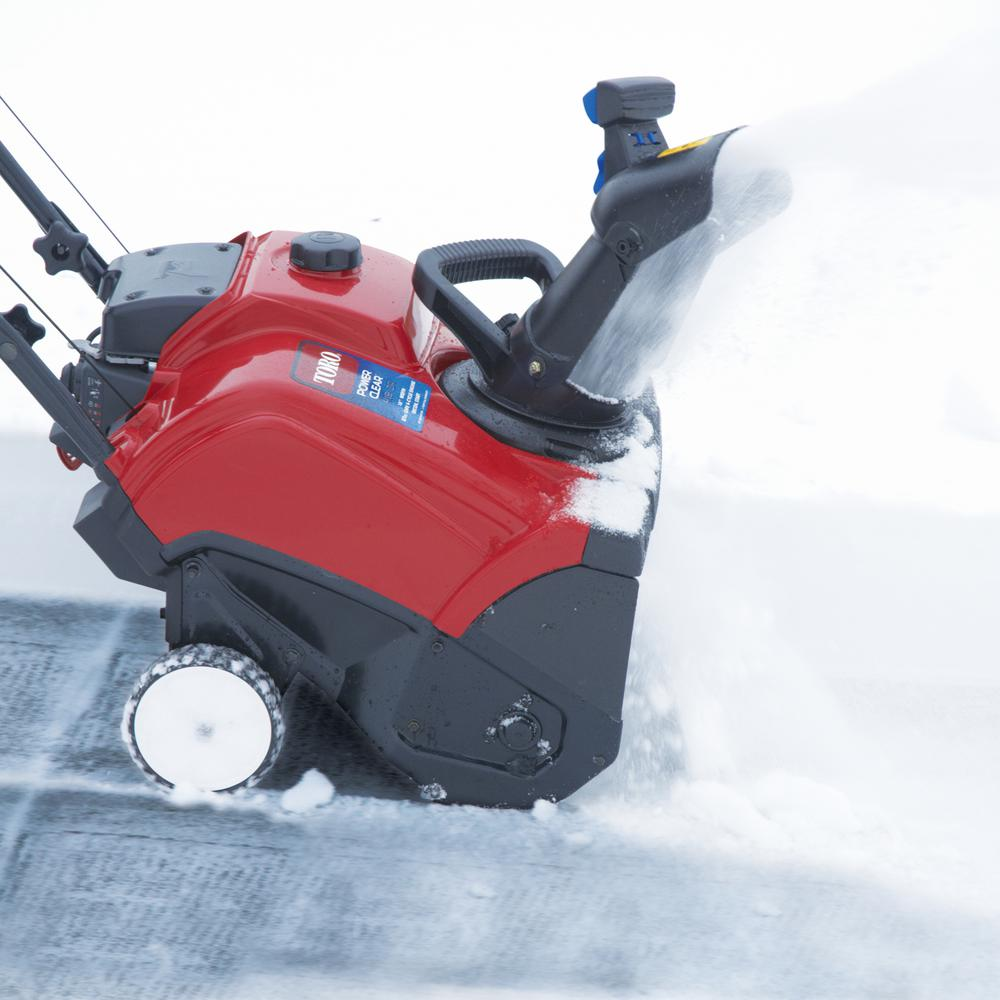 ghdonat.com Single-stage Gas Snow Blower Power Clear 518 Ze 18 In ...