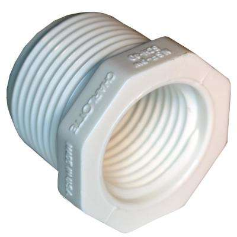 1 in. x 3/4 in. PVC Sch. 40 Reducer Bushing