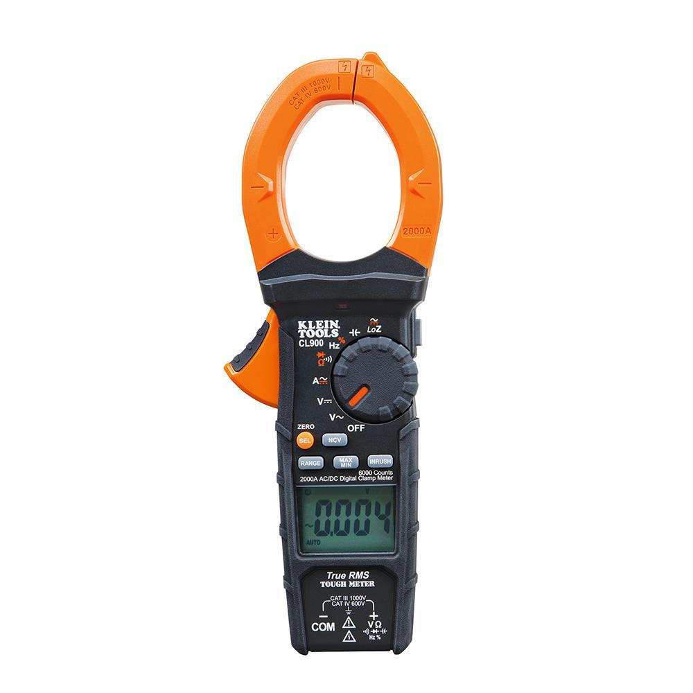 Klein Tools 2,000 Amp Digital Clamp Meter