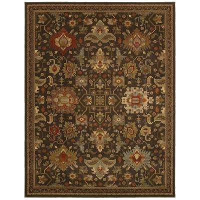 Greyson Chestnut 9 ft. 6 in. x 12 ft. 2 in. Area Rug