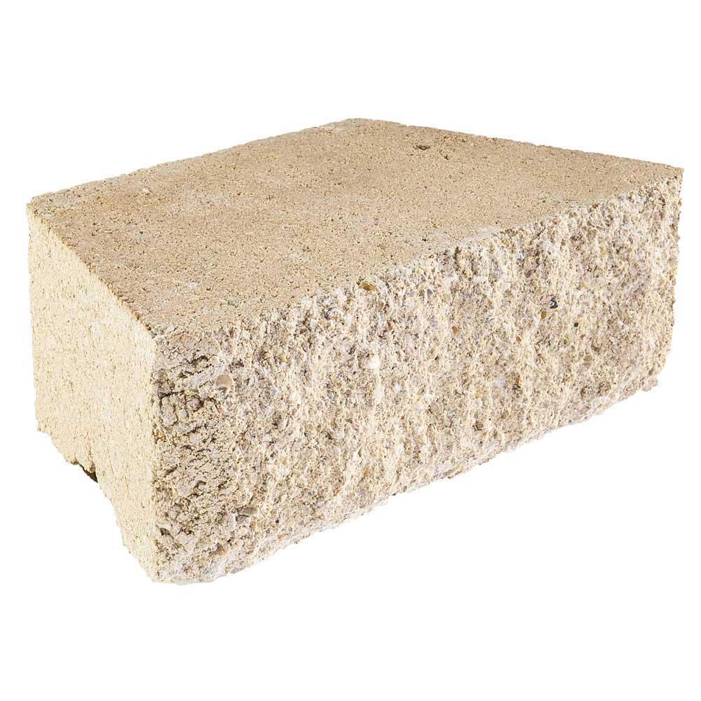 RockWall Small 4 in. x 11.75 in. x 6.75 in. Limestone