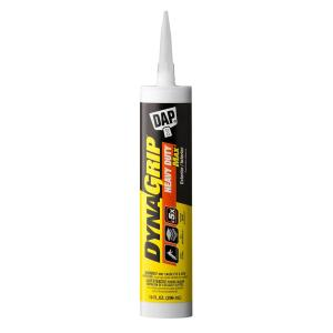 DAP DYNAGRIP 10 oz. Heavy Duty Max Construction Adhesive (12-Pack) by DAP
