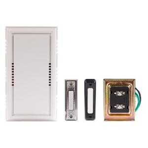 Remarkable Hampton Bay Wired Door Chime Contractor Kit Hb 27102 03 The Home Depot Wiring Digital Resources Cettecompassionincorg